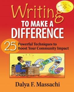 """""""Writing to make a Difference"""" by Dalya Massachi"""